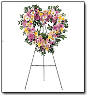 Loving Heart Easel