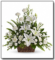 Peaceful Lilies Arrangement